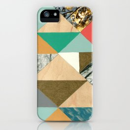 Glimpses of snow iPhone Case