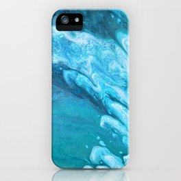 Lure Of The Sea I iPhone Case