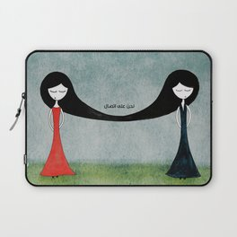 We are in contact Laptop Sleeve