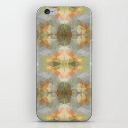 Mozaic design in soft pastel colors iPhone Skin