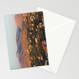 Light from the Sunset Stationery Cards