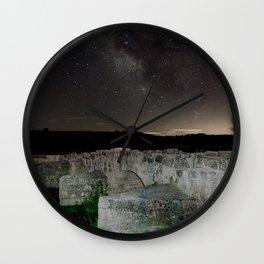 Roman bridge Wall Clock