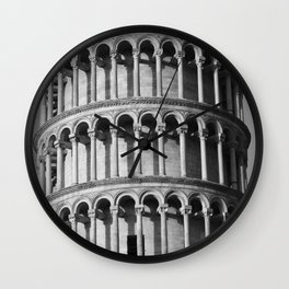 Pisa Tower Wall Clock