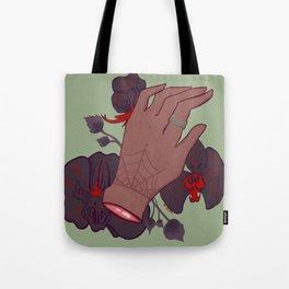 Fist Full of Flowers Tote Bag