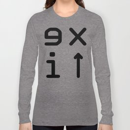 Exit #8 Long Sleeve T-shirt