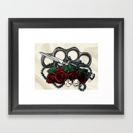Feelin Lucky, Princess? Framed Art Print