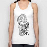 karma Tank Tops featuring Karma by allenletson