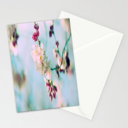 Cherry Blossoms pink Pastels Stationery Cards