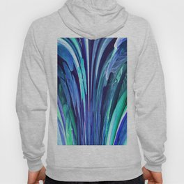 512 - Abstract plant design Hoody