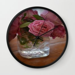 A Mother's Mother's Rose Wall Clock