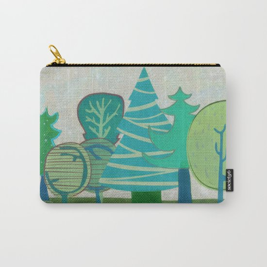 I have  only a small forest Carry-All Pouch