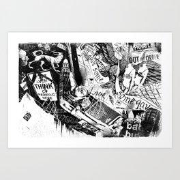 NYC_Stroll Art Print