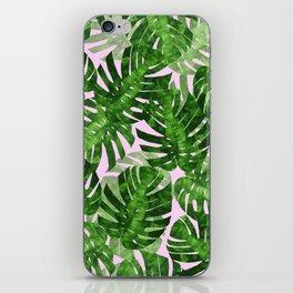 Tropical leaf VI iPhone Skin