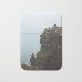 Castle on top of the Cliffs of Moher Bath Mat