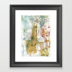 A French Experience Framed Art Print