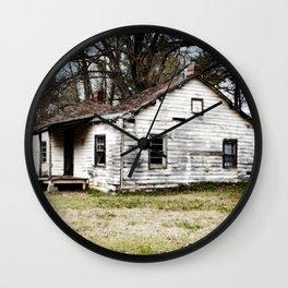 A sad shack. Wall Clock