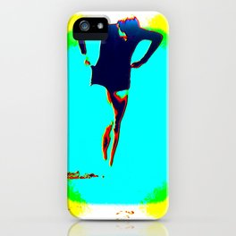 Woman Emerging (h) iPhone Case