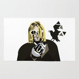 Study of a shadow (K.Cobain) Rug