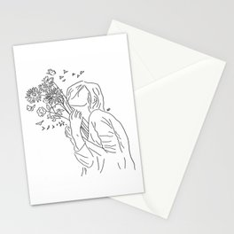 allow yourself to bloom again Stationery Cards
