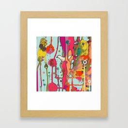 une chanson Framed Art Print