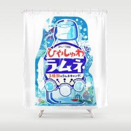 RAMUNE SuperMarket Shower Curtain