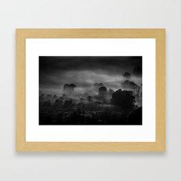 Mist at Mam Tor Framed Art Print