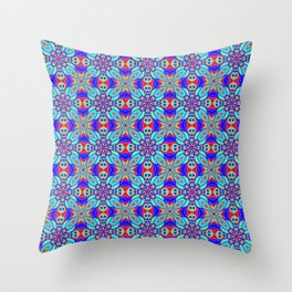 Eyes in the Forest Throw Pillow