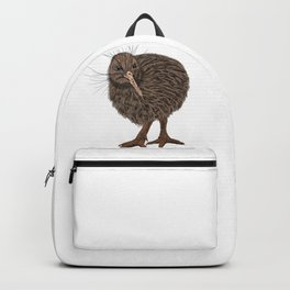 Charming Kiwi bird Backpack