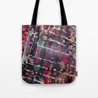 code Tote Bags featuring Code by MonsterBrown