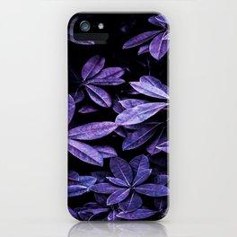 Stillness, Botanical Plants Leaves iPhone Case