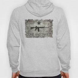 Come and Take it Flag with AR-15 Hoody