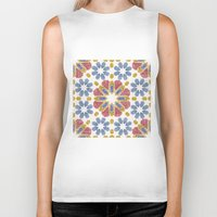 morocco Biker Tanks featuring Morocco by Vicky Webb AKA Crumpetsandcrabsticks
