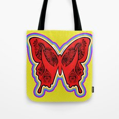 Henna Butterfly No. 2 Tote Bag