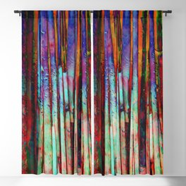 Colored Bamboo 2 Blackout Curtain