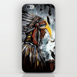 Christina of the Feathers iPhone Skin
