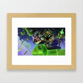 Final Boss Veigar League Of Legends Framed Art Print