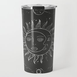 Moon, sun and elements Travel Mug