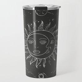 Moon, sun and elements Travel Mug