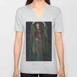 John Singer Sargent - Ellen Terry as Lady Macbeth Unisex V-Neck