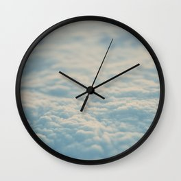 above the clouds ... Wall Clock