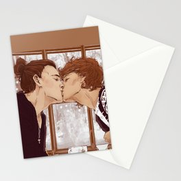 """"""" Warm kisses """" Stationery Cards"""