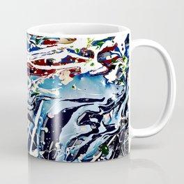 Woman swimming Coffee Mug