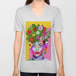 Frida R Unisex V-Neck