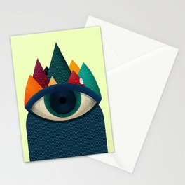 068 - I've seen it owl Stationery Cards