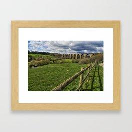 Railway Viaduct Framed Art Print