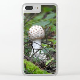 Mushroom for Improvement Clear iPhone Case