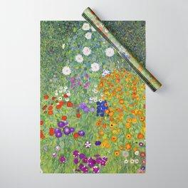 Flower Garden - Gustav Klimt Wrapping Paper