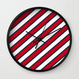 Sripes Wall Clock