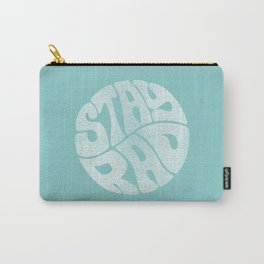 Stay Rad (Turquoise) Carry-All Pouch