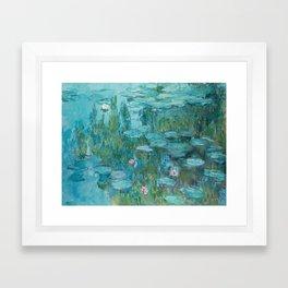 Monet - Water Lilies Framed Art Print